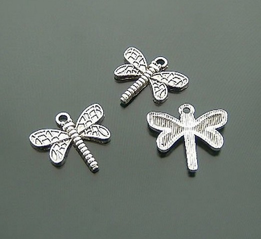 Decorative drangonfly pandora charms for scrapbooking