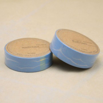 Blue sky printing washi tape