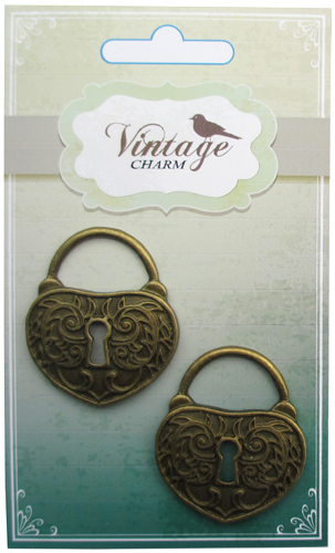 Vintage Alloy Lock