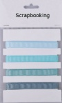 Baby blue collection grosgrain ribbon pack