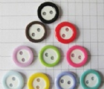 two-tone cute plastic buttons wholesale