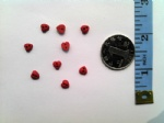 4mm tiny lovely buttons collection