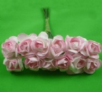 Peach Pink 2.0cm paper flower rose