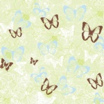 Butterfly pattern paper for scrapbooking