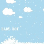 baby boy scrapbook paper design
