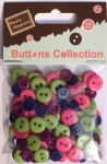 Spring assorted plastic buttons wholesale-mixed cute buttons for scrapbooking