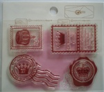 Crown collection clear stamp for scrapbooking