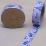 The World printed decorative washi tape for scrapbooking