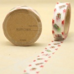 Gift box printed washi tape for christmas decorating