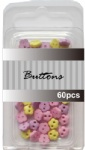 Baby set assort mini flower buttons wholesale