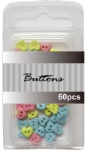 Baby set assort mini Heart buttons wholesale-6mm buttons
