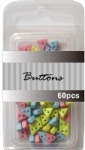 Baby set assort mini triangle buttons wholesale-6mm plastic buttons
