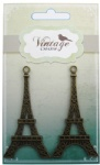 Decorative Vintage Alloy Charms Eiffel Tower