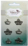 Decorative Vintage Alloy Charms Crown