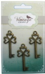 Decorative Vintage Alloy Charms Keys