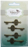 Decorative Vintage Alloy Keys