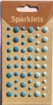 self adhesive enamel dots-cowboy collection-embellishments